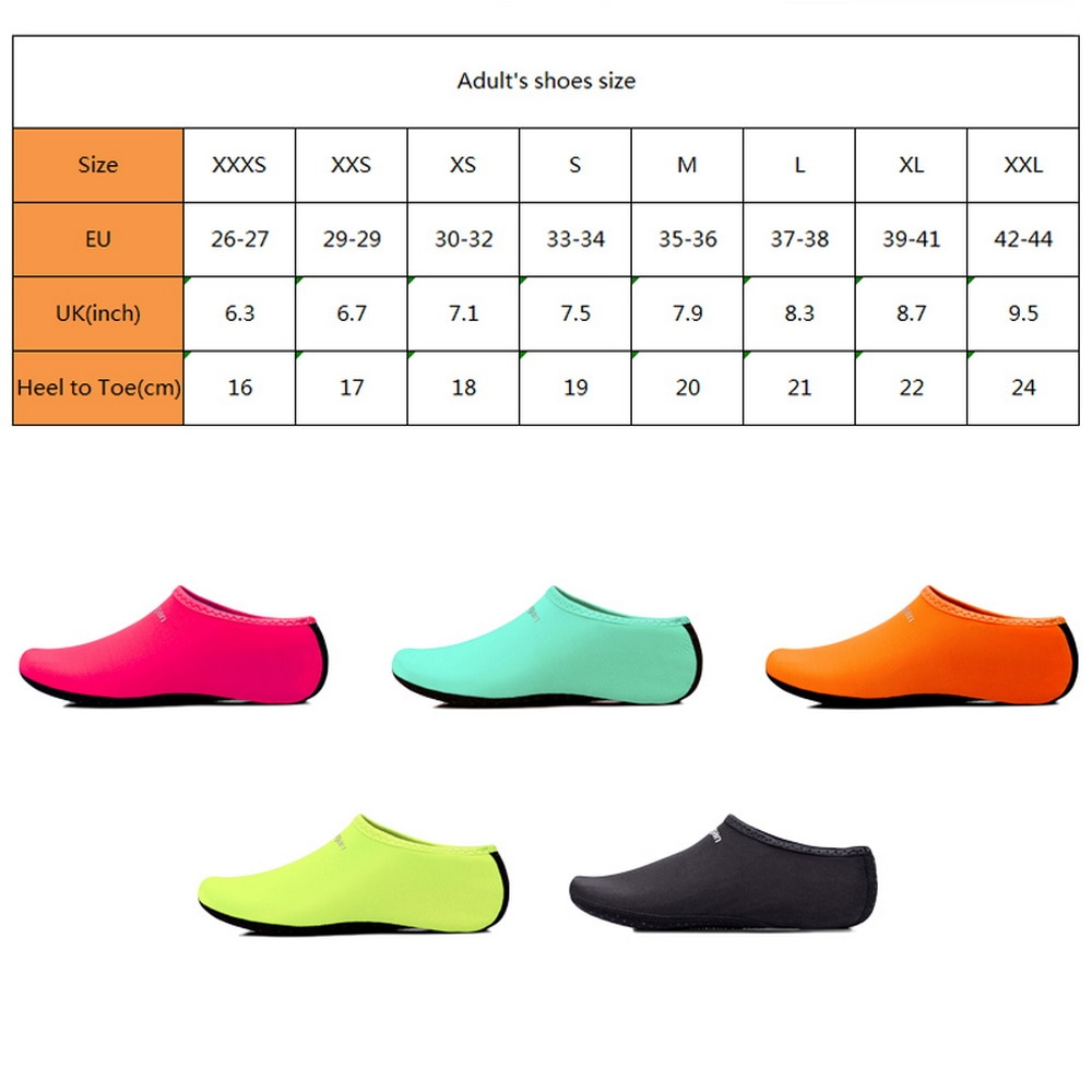 Unisex Sneakers Swimming Shoes Water Sports Beach Surfing Slippers Footwear Summer Aqua Beach Sneakers Men Women Quick Drying Shoes Women's Shoes