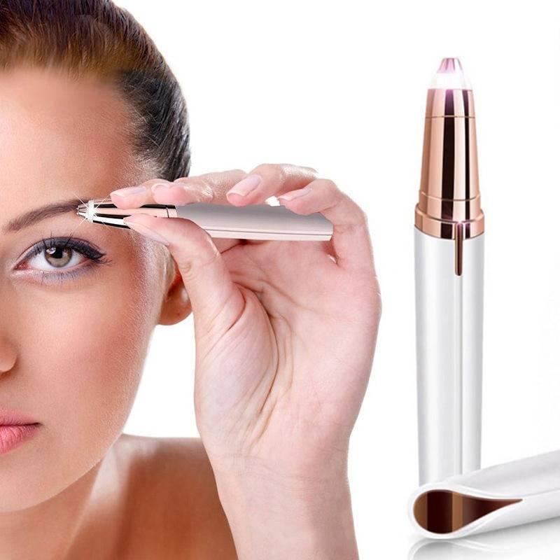 Eyebrow Epilator Maquiagem Profissional Completa Trymer Do Brwi Eye Brow Trimmer For Rasoir Visage Femme Make Up Eye Brow Shaper Beauty & Health