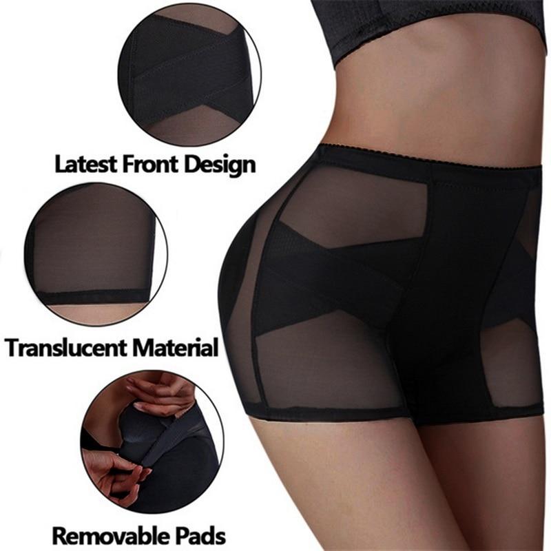 Sexy Women Control Pants Butt Lifter Hip Up Padded Control Panties Lifting Women Body shaper Butt Enchancer Slimming Shaperwear Clothing Underwear & Exotic Apparel