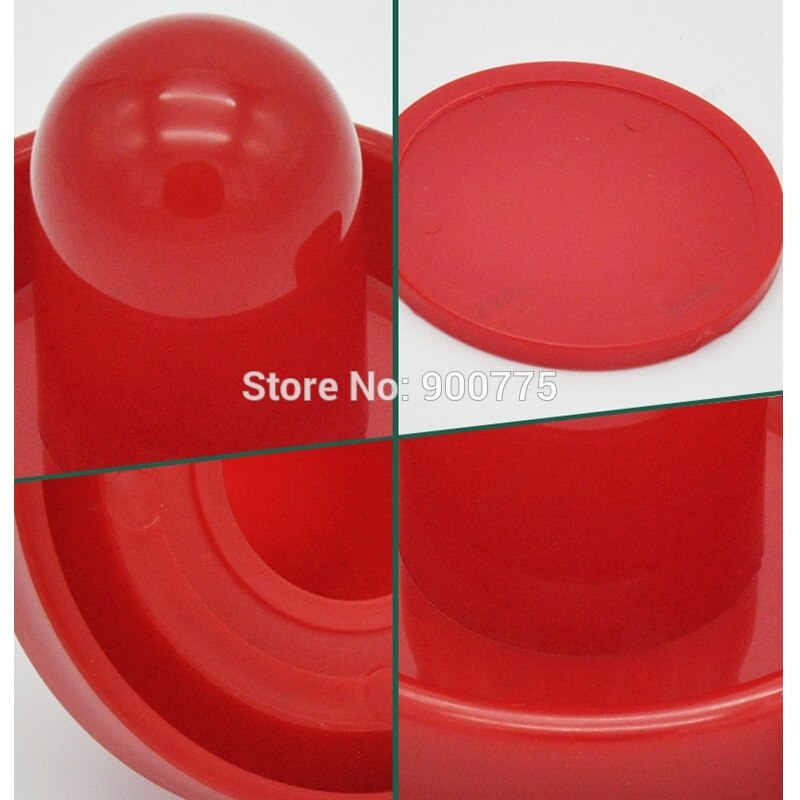 Air Hockey 1 PCS 96 mm Handle+1 PCS 63.8 mm Puck Adult Table Indoor games entertainments toys paddle handle-Eco Material Sports & Entertainment